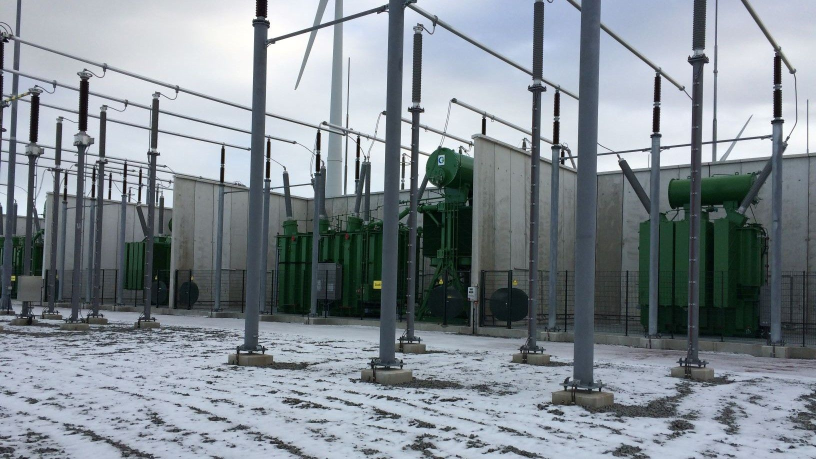 Gemini wind farm onshore high voltage substation